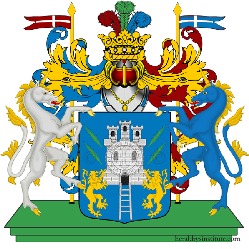 Coat of Arms of family Scana