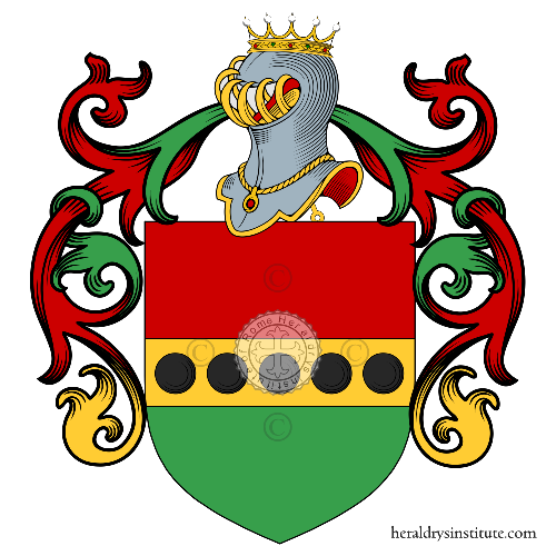 Coat of Arms of family Mippi