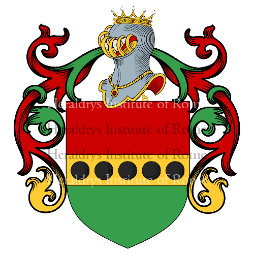 Coat of Arms of family Rippi