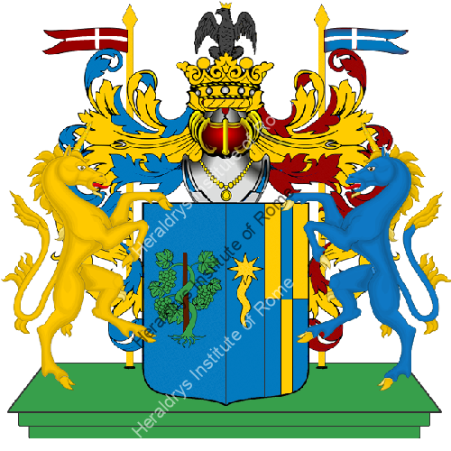 Coat of Arms of family Rosatti