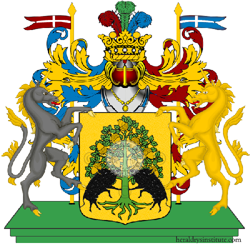 Coat of arms of family Postiglione