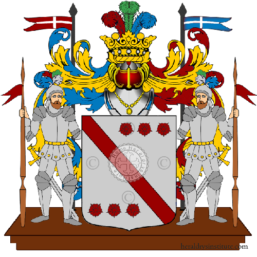 Coat of arms of family Soldane