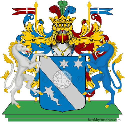 Coat of Arms of family Divia