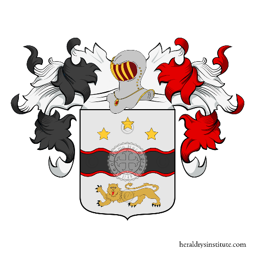 Coat of Arms of family Gelain