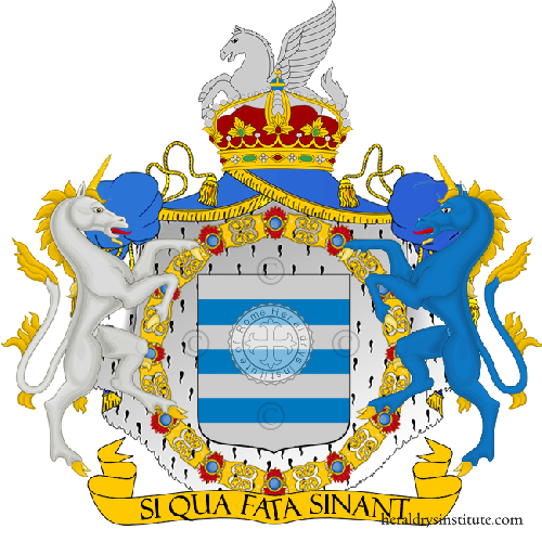 Coat of arms of family Tocco