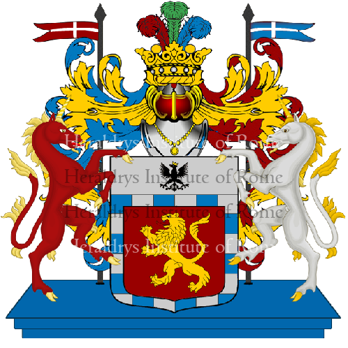 Coat of Arms of family Stoppano