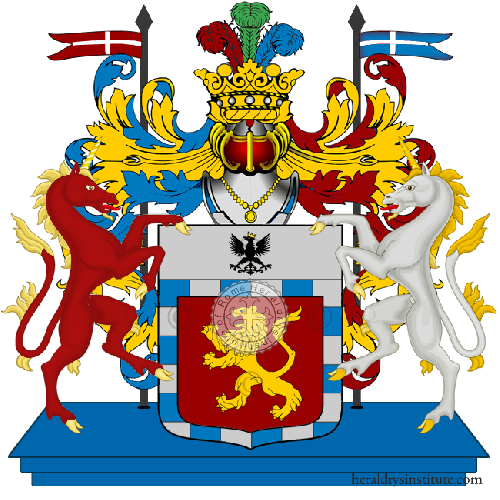 Coat of Arms of family Toppani