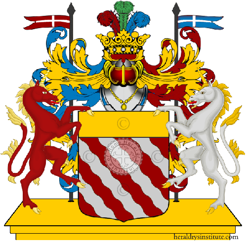 Coat of Arms of family Sagani