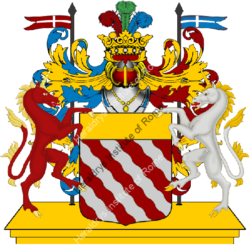 Coat of Arms of family Zagani