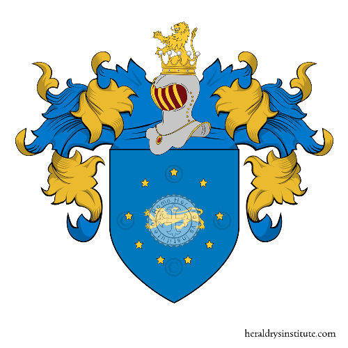 Coat of Arms of family Palori