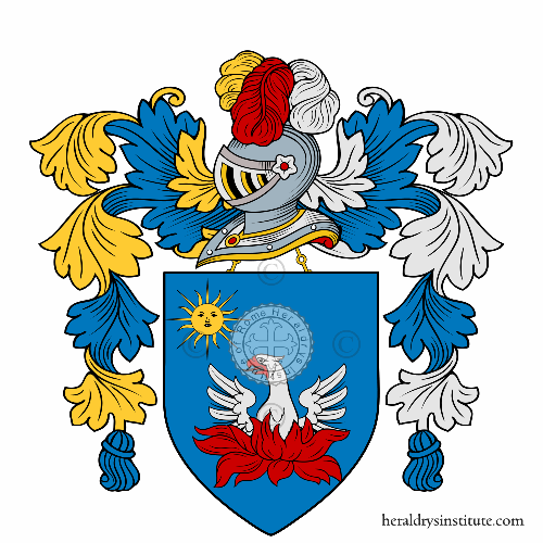 Coat of arms of family Battisti