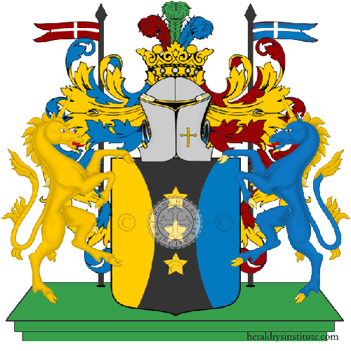 Coat of Arms of family Santelmo