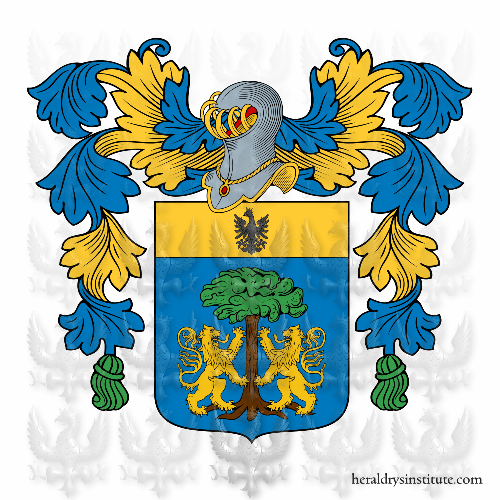 Coat of Arms of family Sbarba