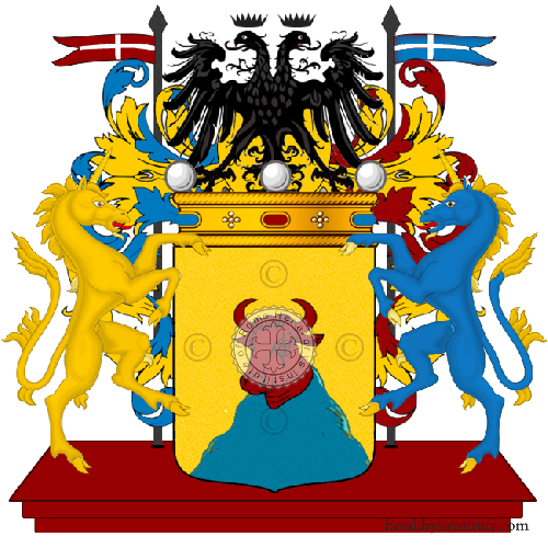 Coat of Arms of family Montagni