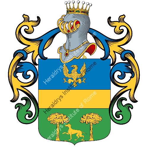 Coat of Arms of family Vuzzo
