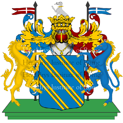 Coat of arms of family Ansaloni