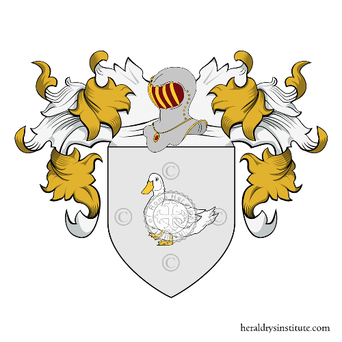 Coat of Arms of family Polonio