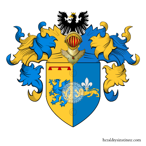 Coat of Arms of family Salermo