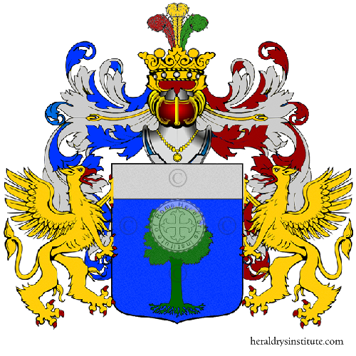 Coat of arms of family Drillo
