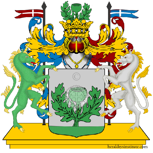 Coat of Arms of family Riccato