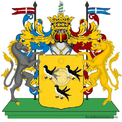 Coat of Arms of family Occulto