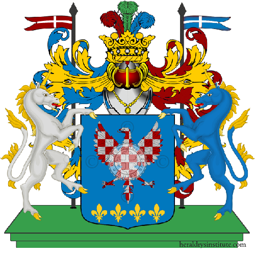 Coat of Arms of family Zampini