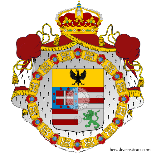 Coat of Arms of family Pioppelli