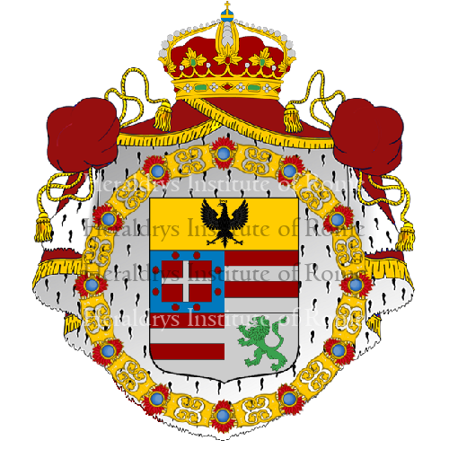 Coat of Arms of family Piozzini
