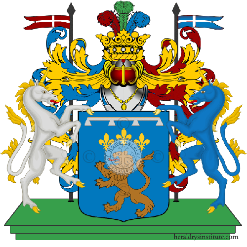 Coat of Arms of family Leopardi Di Penne