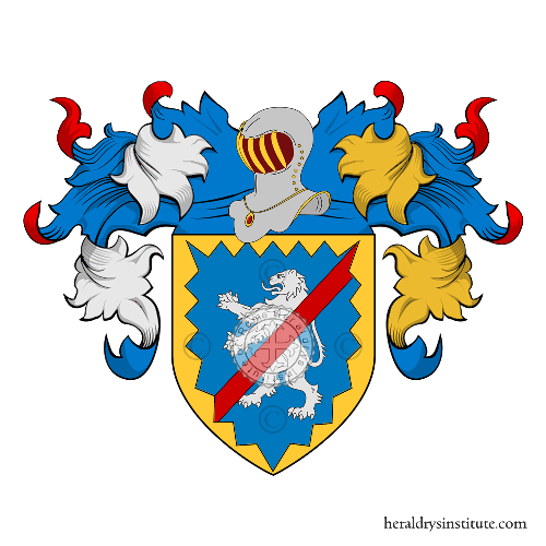 Coat of Arms of family Monteleone