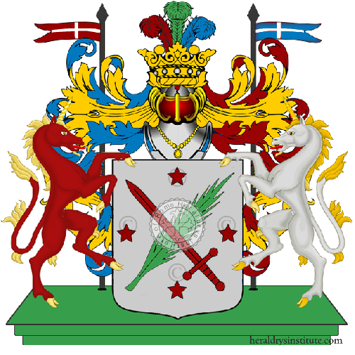 Coat of Arms of family Dinolfi