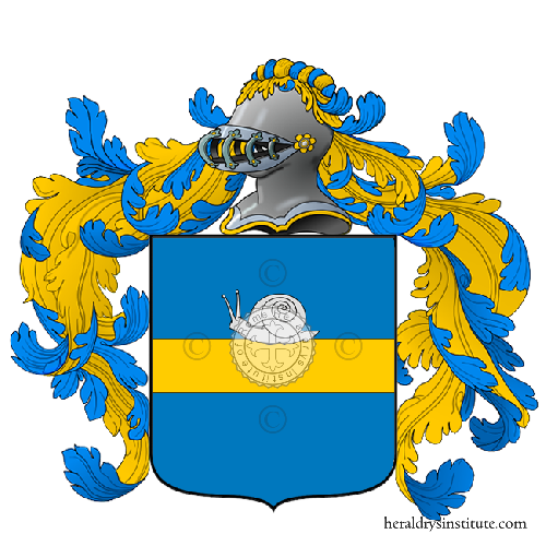 Coat of arms of family