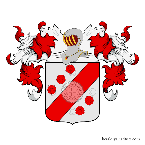 Coat of Arms of family Pisani Massamormile