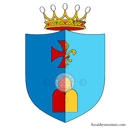 Coat of Arms of family Bertoletti