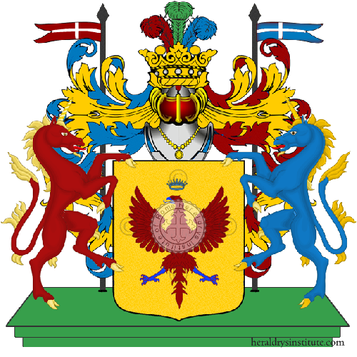 Coat of Arms of family Martinengo Delle Palle