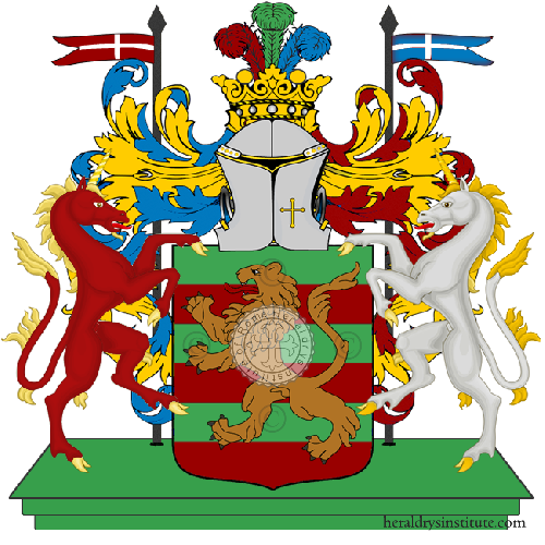 Coat of Arms of family Petagna