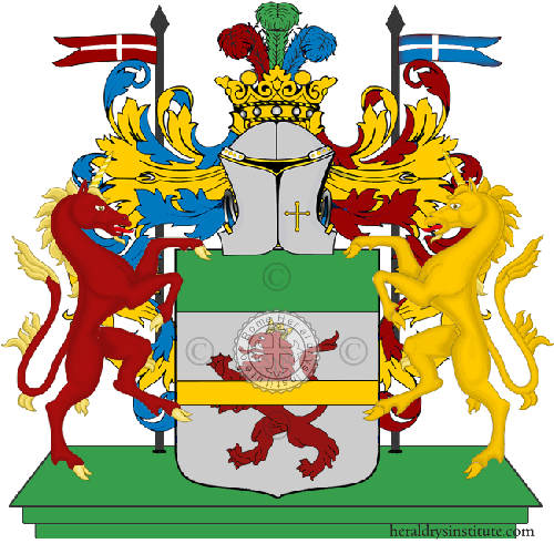 Coat of Arms of family Raccanelli