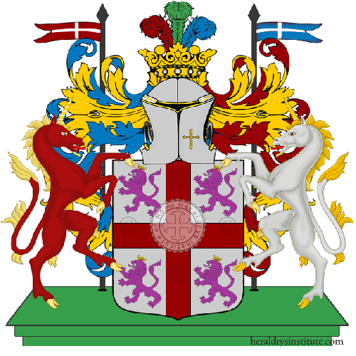 Coat of Arms of family Fraccapani