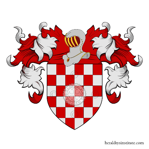 Coat of Arms of family Vuoso