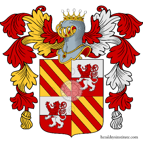 Coat of arms of family Dagnoni