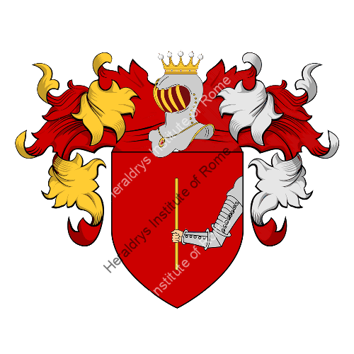 Coat of Arms of family Pastone