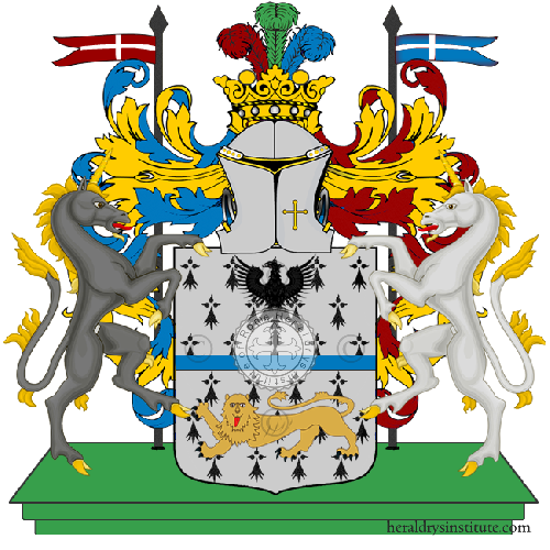 Coat of Arms of family PODAVITTE