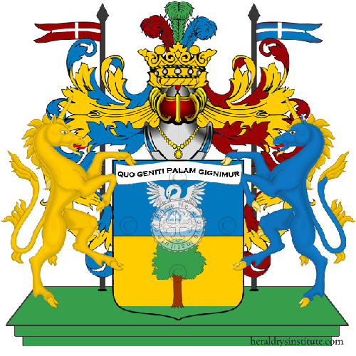 Coat of Arms of family Palacino