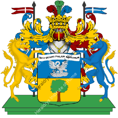 Coat of Arms of family Palagro