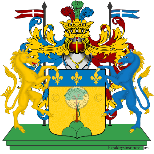 Coat of Arms of family Alivernini