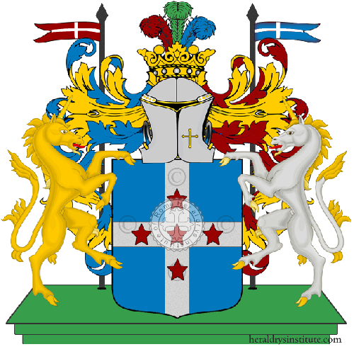 Coat of Arms of family D`Acri