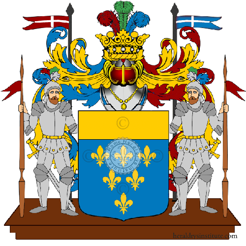 Coat of Arms of family Brugnera Gianni