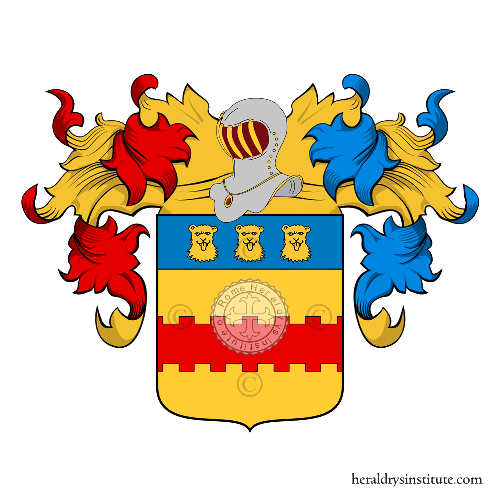 Coat of Arms of family Sbrocco