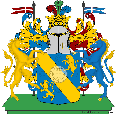 Coat of Arms of family Ombretti