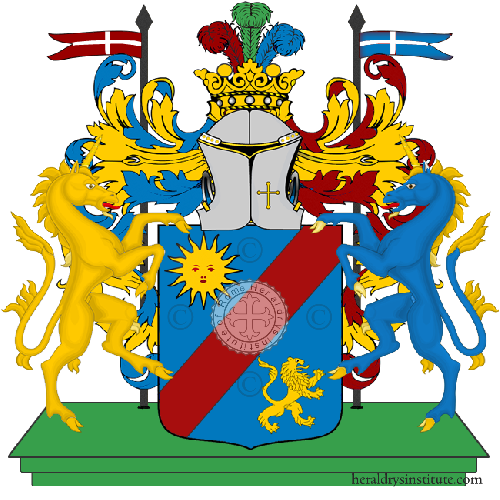 Coat of Arms of family Pruiti